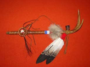 100 Dollar peace pipes by Laverne Little